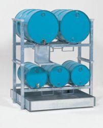 1 Drum Rack for Stackable Drum Rack and Sump System