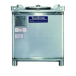 250 Gallon IBC Tote - Stainless Steel - 1