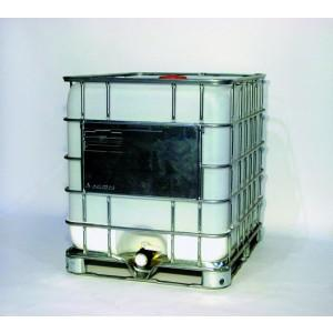 275 Gallon Poly IBC Tote - Steel base
