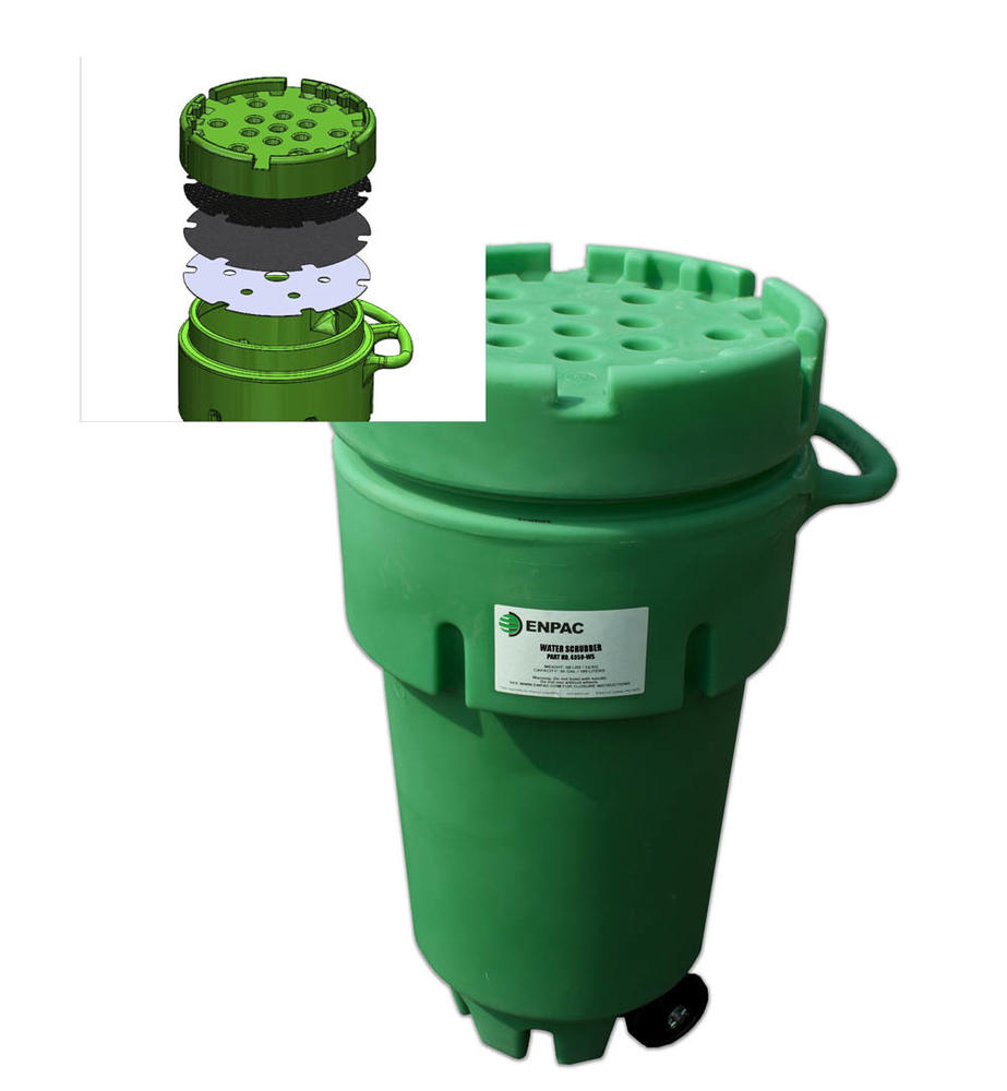 50 Gallon Wheeled Water Scrubber - 1