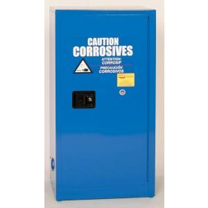 Acid & Corrosives Storage Cabinet - 16 Gallon Self Closing Doors