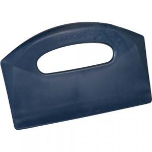 Bench Scraper - metal detectable - blue