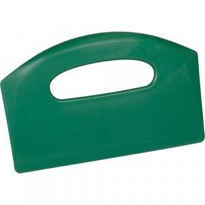 Bench Scraper - metal detectable - green
