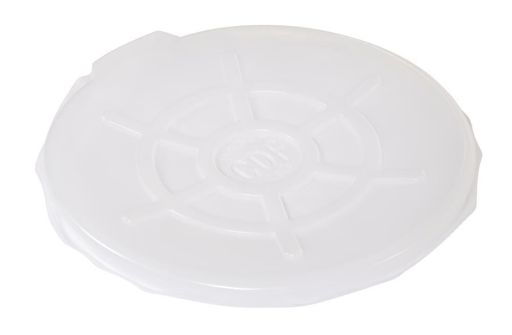 Clr Plastic Drum Cover Open Head 55 Gal - 1