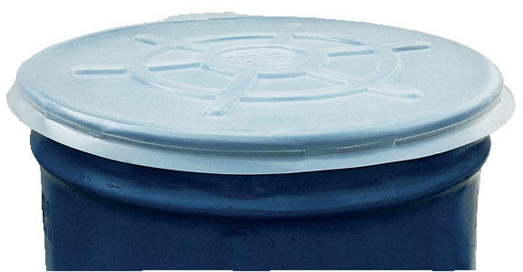 Clr Plastic Drum Cover Open Head 55 Gal