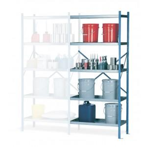 """Containment Shelving - 24"""" Shelving Section Adder"""