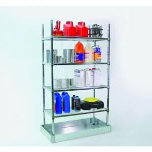Containment Shelving - 36x18x64