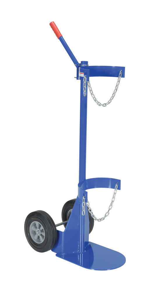 Cylinder Dolly With Hard Rubber Wheels - 1