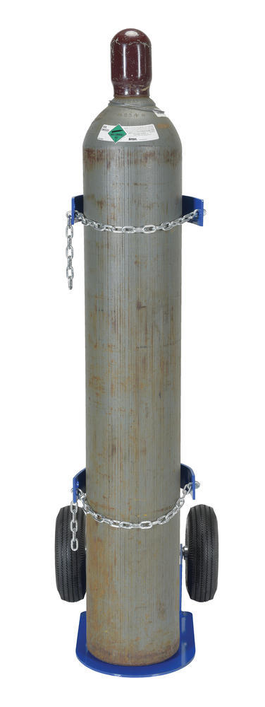 Cylinder Dolly With Pneumatic Wheels - 5