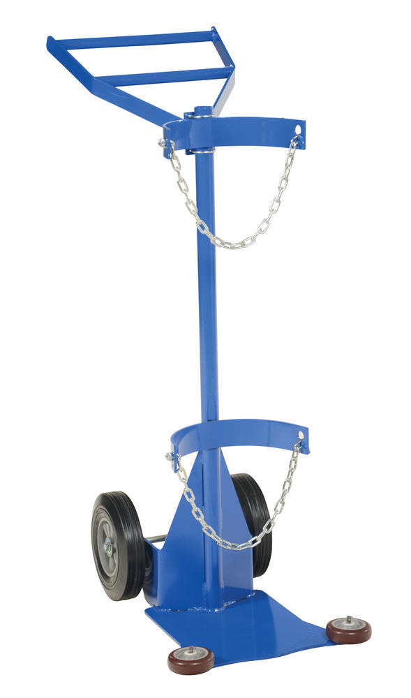 Deluxe Cylinder Dolly-Hard Rubber Wheels - 1