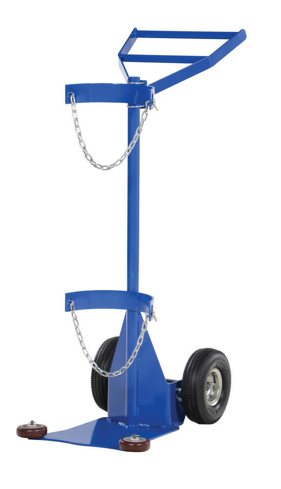 Deluxe Cylinder Dolly-Pneumatic Wheels - 1