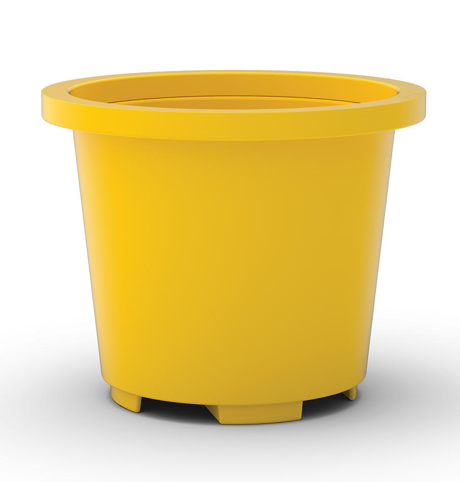 Drum Containment Base - Yellow