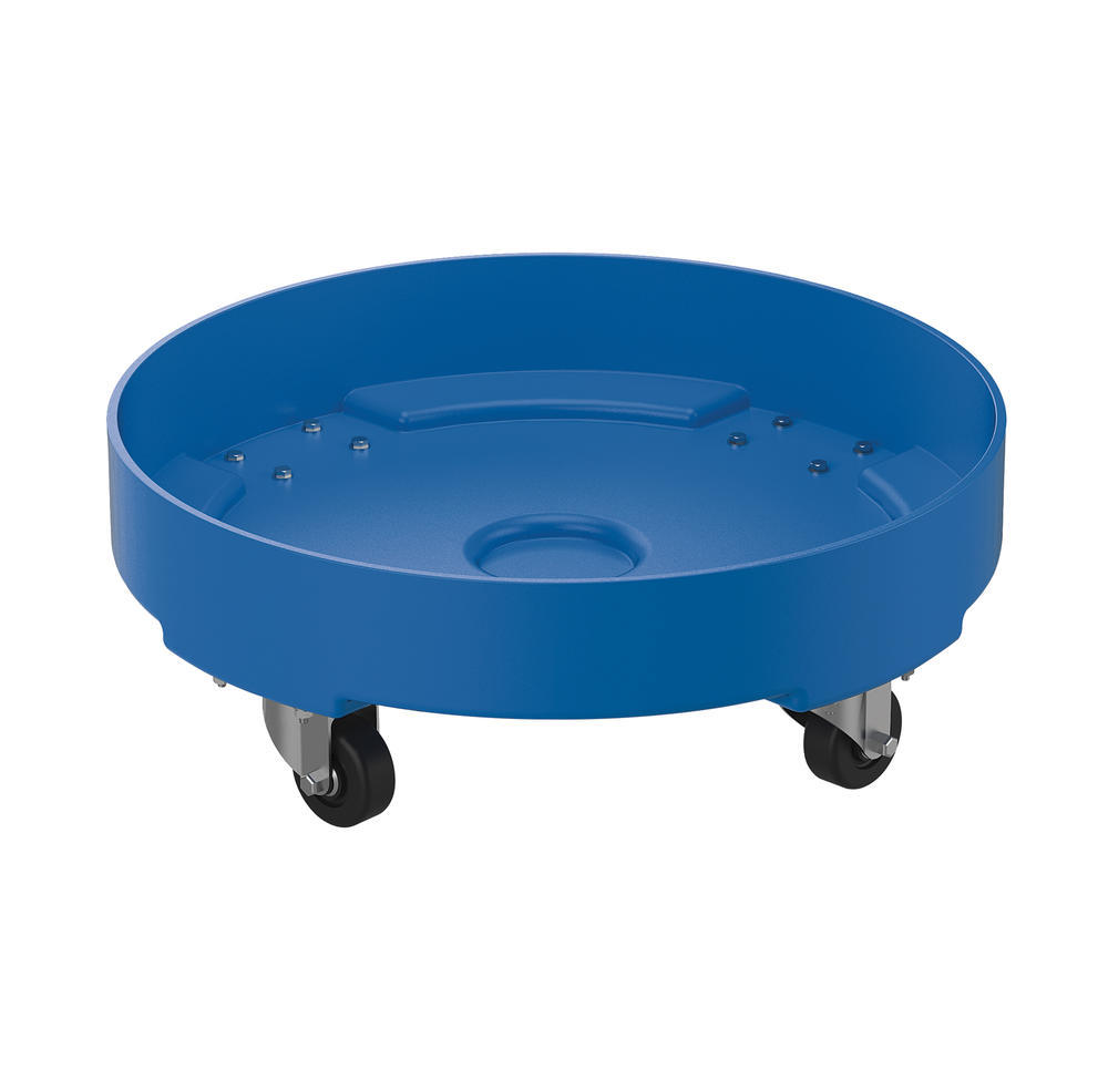 Drum Dolly Poly Blue 30 Gallon