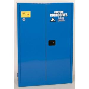 Flammable Acid & Corrosive Cabinet - 45 Gallon - Manual Doors