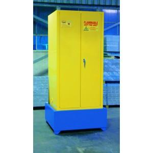 Flammable Cabinet Sump - 1-Drum Vertical