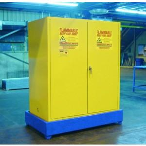 Flammable Cabinet Sump - 2-Drum Vertical