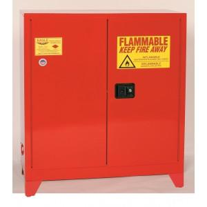 Flammable Paint & Ink Cabinet with Legs - 40 Gallon - Manual Doors