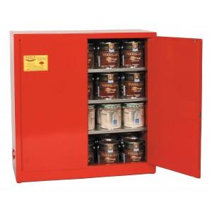 Flammable Paint & Ink Storage Cabinet - 40 Gallon - Manual Doors