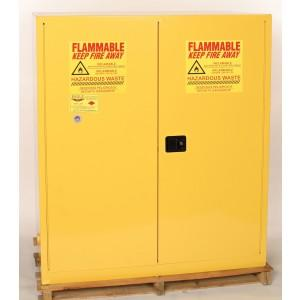 Flammable Safety Cabinet - 110 Gallon - Manual Doors