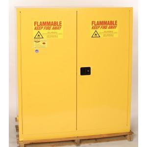 Flammable Safety Cabinet - 110 Gallon - Self-Closing, Vertical - 1