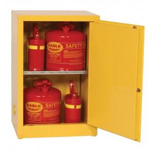 Flammable Safety Cabinet - 12 Gallon - Self-Closing Doors