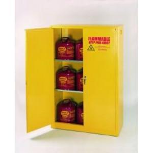 Flammable Safety Cabinet - 15 Gallon - Self-Closing Doors