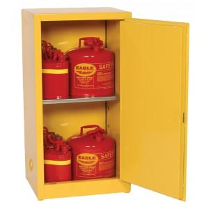 Flammable Safety Cabinet - 16 Gallon - Manual Doors