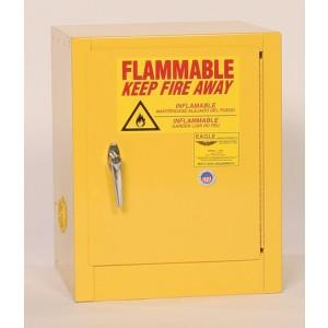 Flammable Safety Cabinet - 4 Gallon - Self-Closing Doors