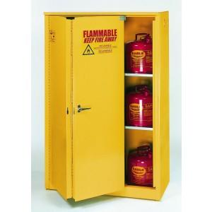 Flammable Safety Cabinet - 45 Gallon - Sliding Doors