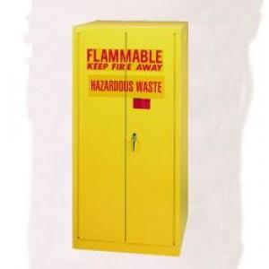 Flammable Safety Cabinet - 55 Gallon - Self-Closing, Vertical