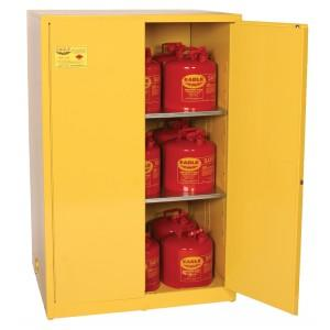 Flammable Safety Cabinet - 90 Gallon - Manual Doors