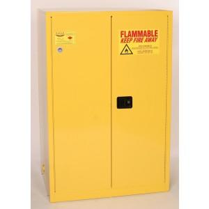 Flammable Safety Cabinet - 90 Gallon - Self-Closing Doors