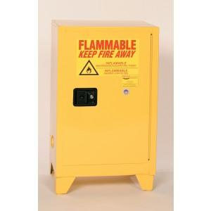Flammable Safety Cabinet with Legs - 12 Gallon - Self-Closing Doors