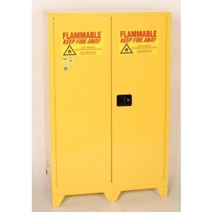 Flammable Safety Cabinet with Legs - 45 Gallon - Self-Closing