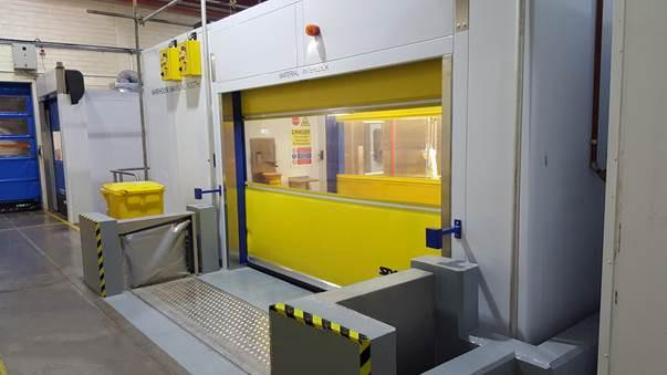 """FM Approved Anhamm Automatic Doorway Spill Barrier 3' x 12"""""""