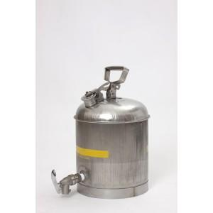 FM Approved - Faucet Can - 5 Gallon - Stainless