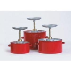 FM Approved - Steel Plunger Can - 1 Quart