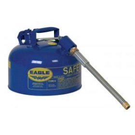 FM Approved - Steel Type II Safety Can - 2 Gallon - Blue-w280px