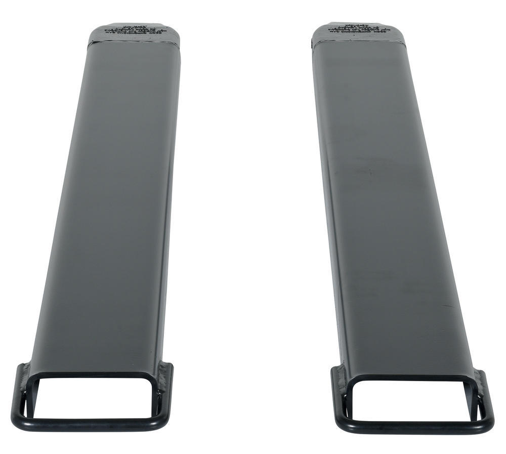 Fork Extension Black Pair 63L X 5W In