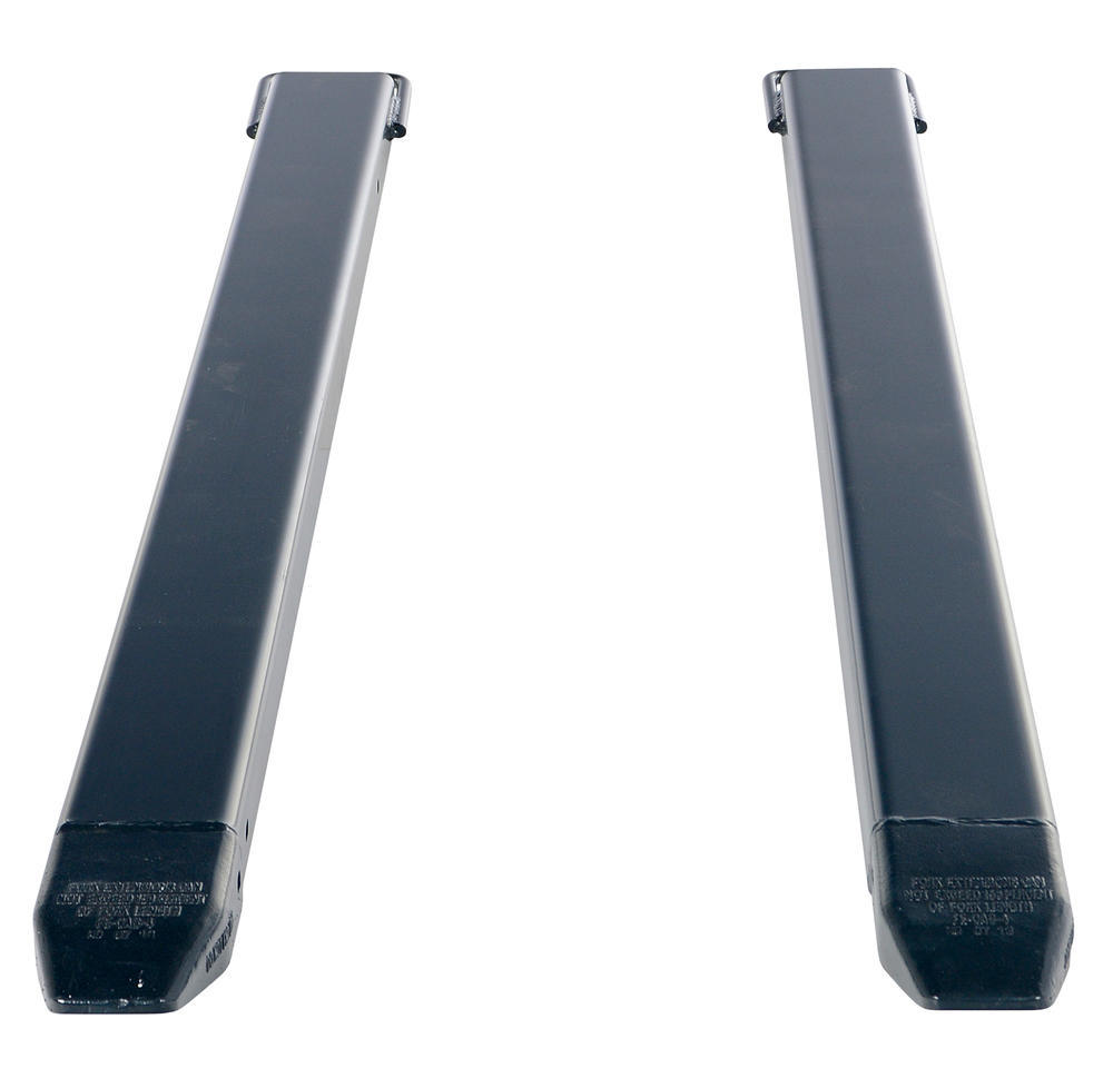 Fork Extension Black Pair 72L X 4W In - 3