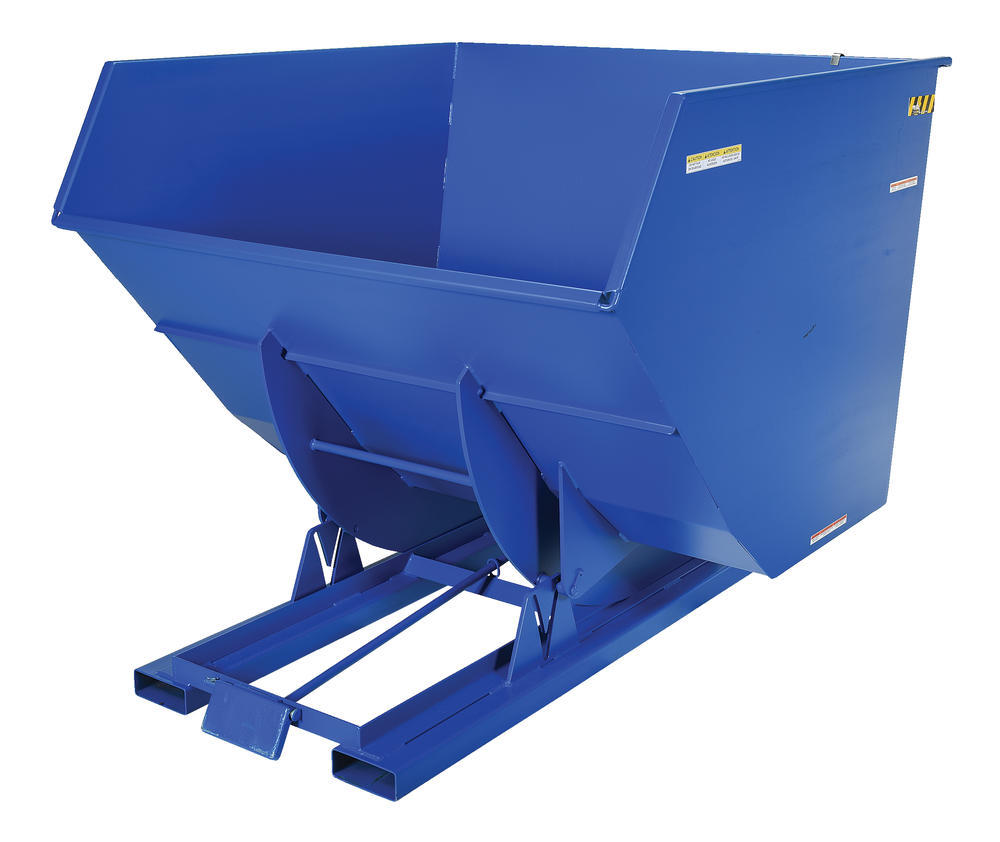Heavy-Duty, Self-Dumping Hopper - 4 cu yard - 6K - Blue - 2