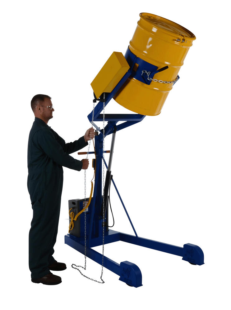 Hyd Drum Carrier/Rotator/Boom Dc 72 In