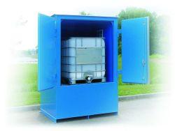 IBC - Non-Combustible - 150 mph Wind Rating - FM Approved - 1 IBC Locker