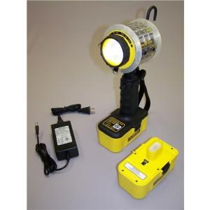 Intrinsically Safe Light - Two Battery Packs - 1