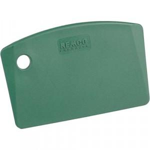 Mini Bench Scraper - metal detectable - green