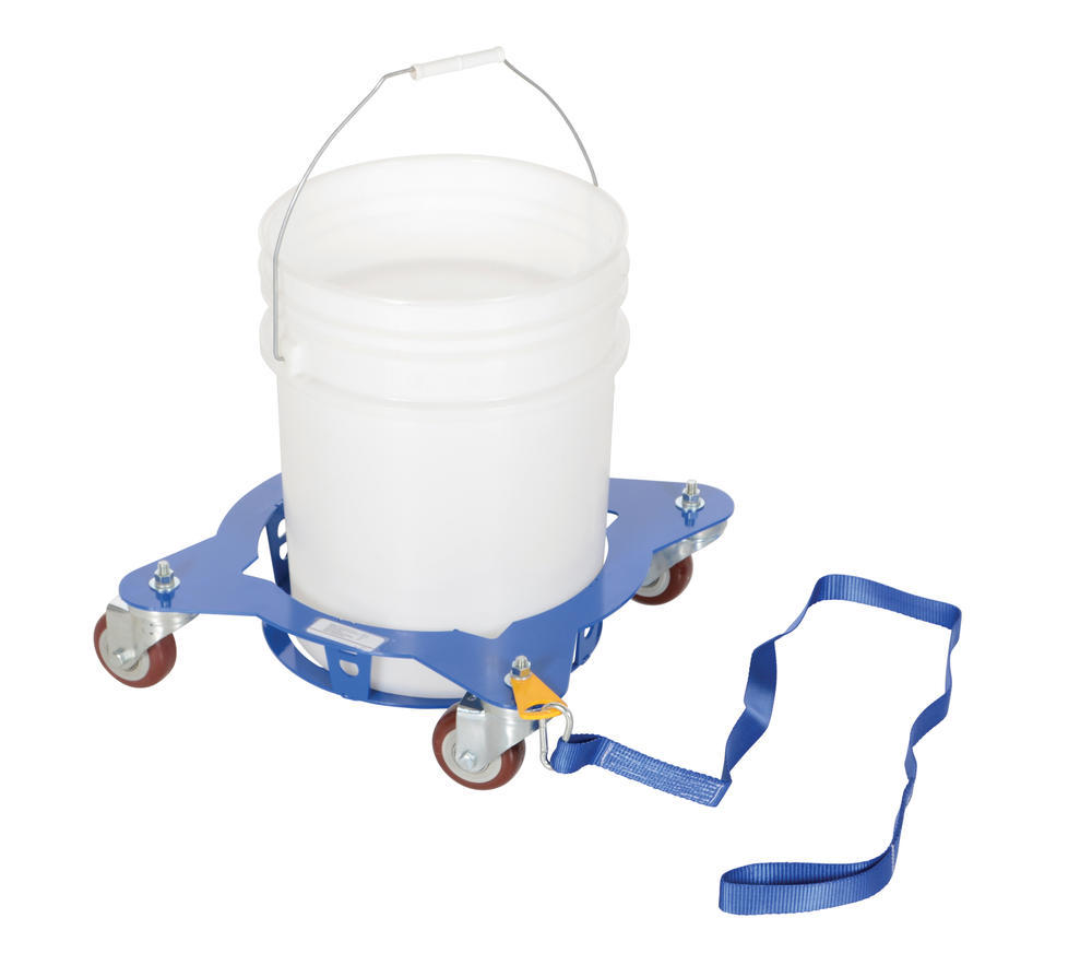 Multi-Pail Dolly With Pull Strap 150 Lb
