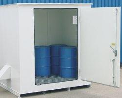 N Series - Explosion Proof Panels - 2 Drum Locker