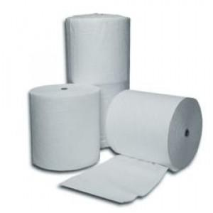"Oil-Only Absorbent Rolls - Medium Weight - 12"" x 150' - Coated Fibers - 2"