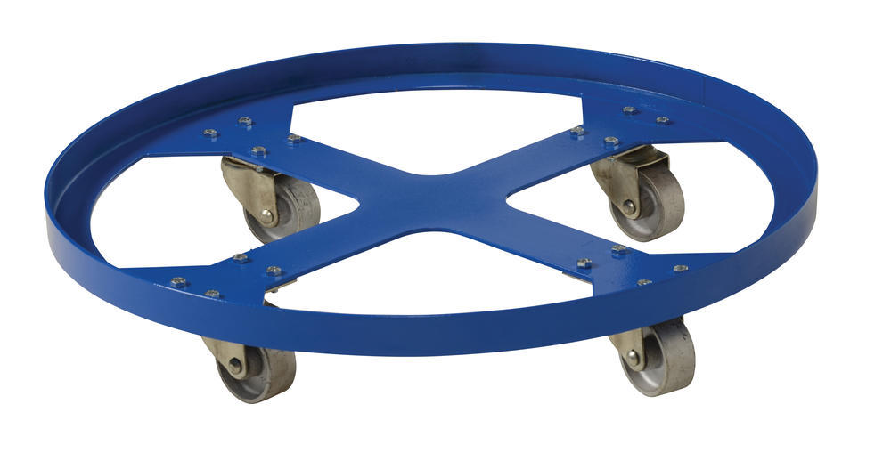 Over Pack Drum Dolly 1200 Lb Cap 28 In