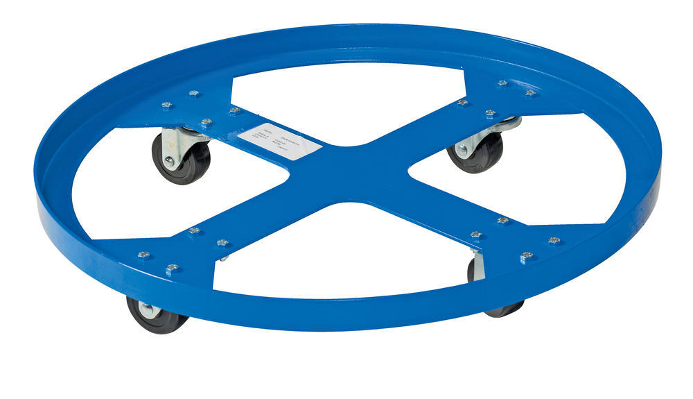 Over Pack Drum Dolly 900 Lb Cap 28 In